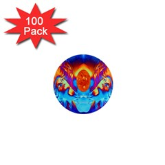 Escape From The Sun 1  Mini Button Magnet (100 Pack) by icarusismartdesigns