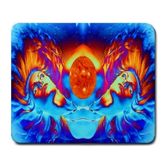 Escape From The Sun Large Mouse Pad (rectangle) by icarusismartdesigns