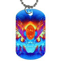 Escape From The Sun Dog Tag (two Sided)  by icarusismartdesigns