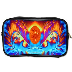 Escape From The Sun Travel Toiletry Bag (two Sides) by icarusismartdesigns