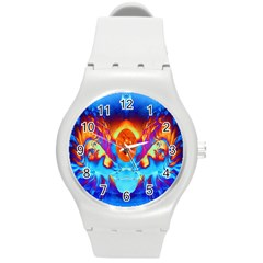 Escape From The Sun Plastic Sport Watch (Medium)