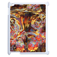Abstract 4 Apple Ipad 2 Case (white) by icarusismartdesigns