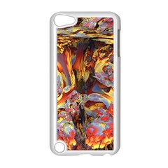 Abstract 4 Apple Ipod Touch 5 Case (white) by icarusismartdesigns