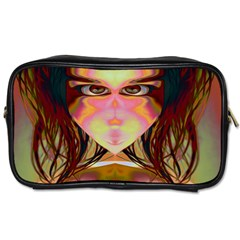 Cat Woman Travel Toiletry Bag (two Sides) by icarusismartdesigns