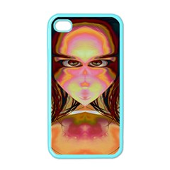 Cat Woman Apple Iphone 4 Case (color) by icarusismartdesigns