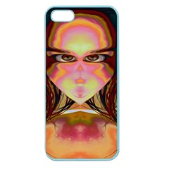 Cat Woman Apple Seamless Iphone 5 Case (color) by icarusismartdesigns