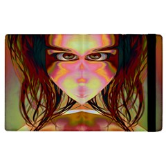 Cat Woman Apple Ipad 3/4 Flip Case by icarusismartdesigns