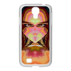 Cat Woman Samsung Galaxy S4 I9500/ I9505 Case (white) by icarusismartdesigns