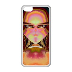 Cat Woman Apple Iphone 5c Seamless Case (white) by icarusismartdesigns