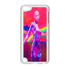 Cyborg Mask Apple Ipod Touch 5 Case (white) by icarusismartdesigns
