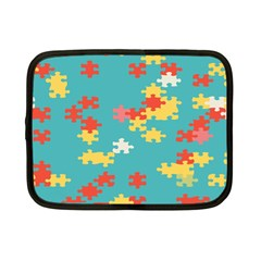 Puzzle Pieces Netbook Sleeve (small) by LalyLauraFLM