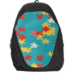 Puzzle Pieces Backpack Bag by LalyLauraFLM