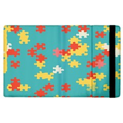 Puzzle Pieces Apple Ipad 2 Flip Case by LalyLauraFLM