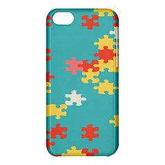 Puzzle Pieces Apple Iphone 5c Hardshell Case by LalyLauraFLM
