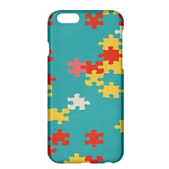 Puzzle Pieces Apple Iphone 6 Plus Hardshell Case by LalyLauraFLM