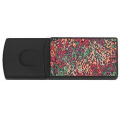 Color Mix Usb Flash Drive Rectangular (4 Gb) by LalyLauraFLM