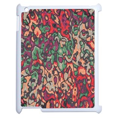 Color Mix Apple Ipad 2 Case (white) by LalyLauraFLM