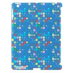 Colorful Squares Pattern Apple Ipad 3/4 Hardshell Case (compatible With Smart Cover) by LalyLauraFLM