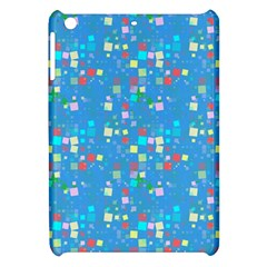 Colorful Squares Pattern Apple Ipad Mini Hardshell Case by LalyLauraFLM