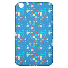 Colorful squares pattern Samsung Galaxy Tab 3 (8 ) T3100 Hardshell Case  by LalyLauraFLM