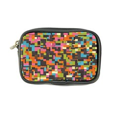Colorful Pixels Coin Purse by LalyLauraFLM