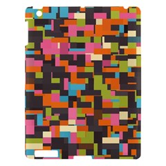 Colorful Pixels Apple Ipad 3/4 Hardshell Case by LalyLauraFLM