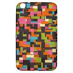 Colorful Pixels Samsung Galaxy Tab 3 (8 ) T3100 Hardshell Case