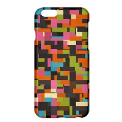 Colorful Pixels Apple Iphone 6 Plus Hardshell Case by LalyLauraFLM