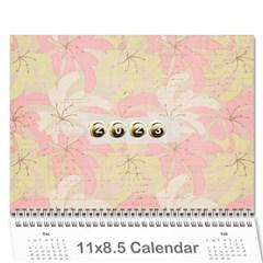 Wall Calendar 11 X 8 5 By Deca   Wall Calendar 11  X 8 5  (12 Months)   Gkfudopmcrth   Www Artscow Com Cover