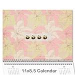 Wall calendar 11 x 8.5 - Wall Calendar 11  x 8.5  (12-Months)