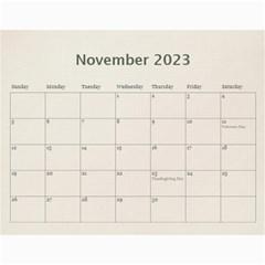 Wall Calendar 11 X 8 5 By Deca   Wall Calendar 11  X 8 5  (12 Months)   Gkfudopmcrth   Www Artscow Com Nov 2015