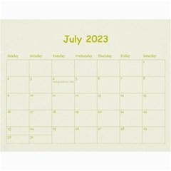 Wall Calendar 11 X 8 5 By Deca   Wall Calendar 11  X 8 5  (12 Months)   Ofqf2u62kno9   Www Artscow Com Jul 2015