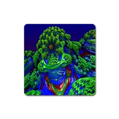 Abstract 1x Magnet (square) by icarusismartdesigns