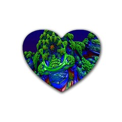 Abstract 1x Drink Coasters (heart) by icarusismartdesigns