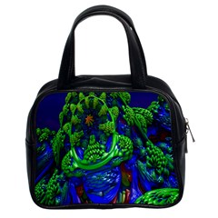 Abstract 1x Classic Handbag (two Sides) by icarusismartdesigns