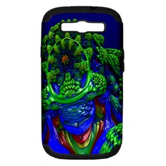 Abstract 1x Samsung Galaxy S Iii Hardshell Case (pc+silicone) by icarusismartdesigns