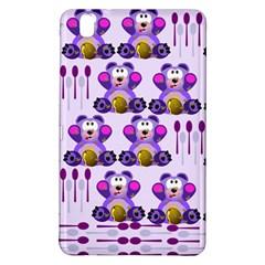 Fms Honey Bear With Spoons Samsung Galaxy Tab Pro 8 4 Hardshell Case by FunWithFibro
