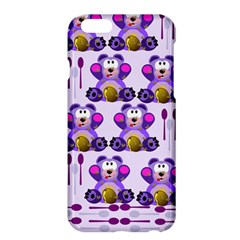 Fms Honey Bear With Spoons Apple Iphone 6 Plus Hardshell Case by FunWithFibro