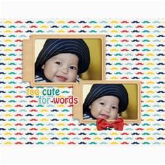 Wall Calendar 11 X 8 5 : Little Man By Jennyl   Wall Calendar 11  X 8 5  (12 Months)   P7323iy433pz   Www Artscow Com Month