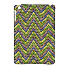 Zig Zag Pattern Apple Ipad Mini Hardshell Case (compatible With Smart Cover) by LalyLauraFLM