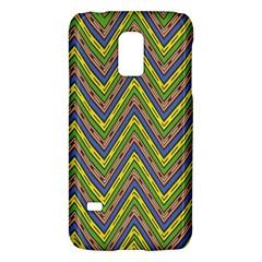 Zig Zag Pattern Samsung Galaxy S5 Mini Hardshell Case  by LalyLauraFLM
