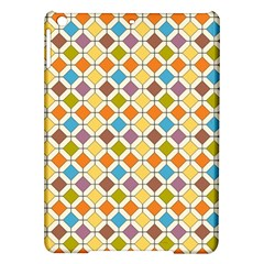 Colorful Rhombus Pattern Apple Ipad Air Hardshell Case by LalyLauraFLM
