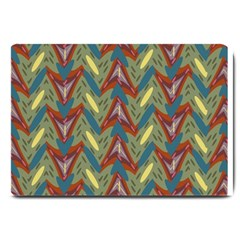 Shapes Pattern Large Doormat by LalyLauraFLM