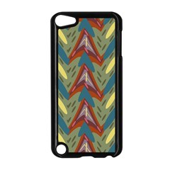 Shapes Pattern Apple Ipod Touch 5 Case (black) by LalyLauraFLM