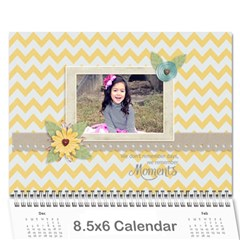 Wall Calendar 8 5 X 6: Moments Like This By Jennyl   Wall Calendar 8 5  X 6    I2pv66nc5vfo   Www Artscow Com Cover