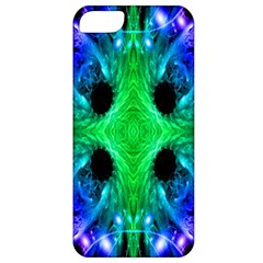 Alien Snowflake Apple Iphone 5 Classic Hardshell Case by icarusismartdesigns