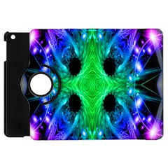 Alien Snowflake Apple Ipad Mini Flip 360 Case by icarusismartdesigns