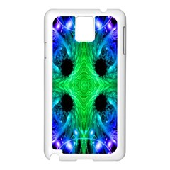 Alien Snowflake Samsung Galaxy Note 3 N9005 Case (white) by icarusismartdesigns