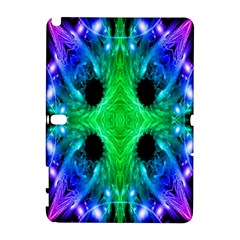Alien Snowflake Samsung Galaxy Note 10 1 (p600) Hardshell Case by icarusismartdesigns