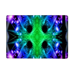 Alien Snowflake Apple Ipad Mini 2 Flip Case by icarusismartdesigns